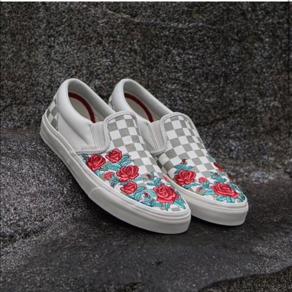 072126a2151fde Vans Vans Checkered Shoes Rose Poshmark Shoes UrqUOa5